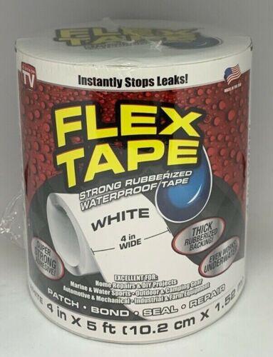 """Flex Seal Rubberized Waterproof Flex Tape 4"""" x 5"""