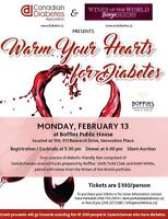 Warm Your Hearts For Diabetes!