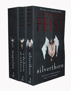 Raymond E. Feist Riftwar Saga 3 Books Collection Set Magician, Silverthorn New