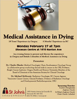 Public Forum on Medical Assistance in Dying