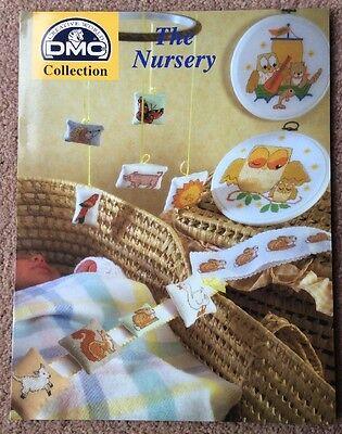DMC The Nursery Cross Stitch Pattern Chart Book DMC 5039