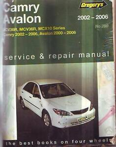 TOYOTA CAMRY******2006  AVALON******2006 WORKSHOP  SERVICE MANUAL Sefton Bankstown Area Preview