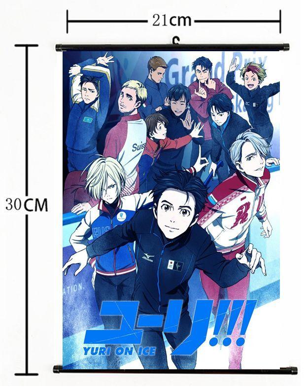 Anime Yuri!!! on Ice Nikiforov Victor  Scroll Home Decor cosplay 1064