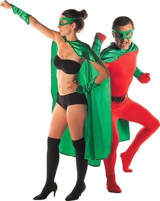 Superheldenkostüm für Frauen und Männer -grün Cod.75944 ()
