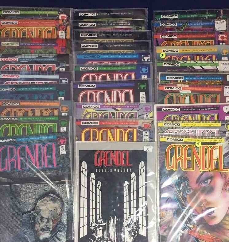 Grendel 1-28, Devils Vagary, Comico 29 Issue Run 1986
