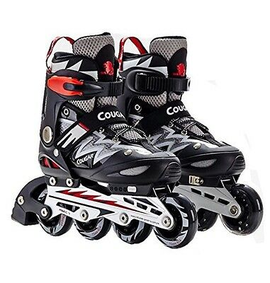 Spove Quad Roller Skates Black Small Fit 12-1 UK 30-33 EU
