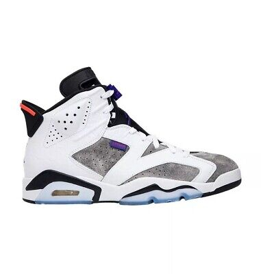 Nike Air Jordan 6 Retro Flint Grey LTR Concord Infrared Size 13 Men's CI3125-100 for sale  Shipping to Canada