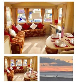 STATIC CARAVAN FOR SALE,4* SEA FRONT HOLIDAY PARK,NORTH WEST,PAYMENT OPTIONS AVAILABLE!,SALE NOW ON!