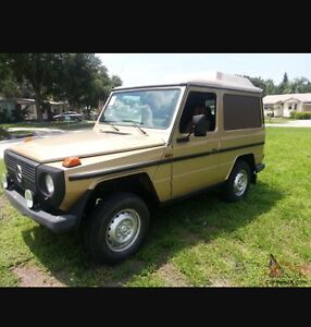 Any mint G-class classic for sale?