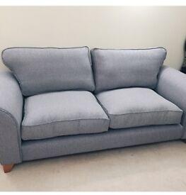Grey three seater sofa - DFS