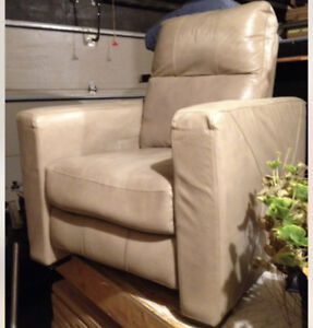 Recliner Chair, leather
