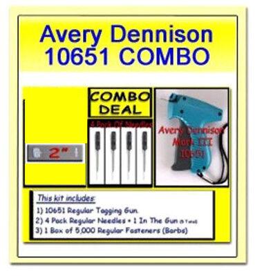 Avery Dennison Mark Iii Tagging Gun Plus 5000 2 Barbs And 4 Extra Needles