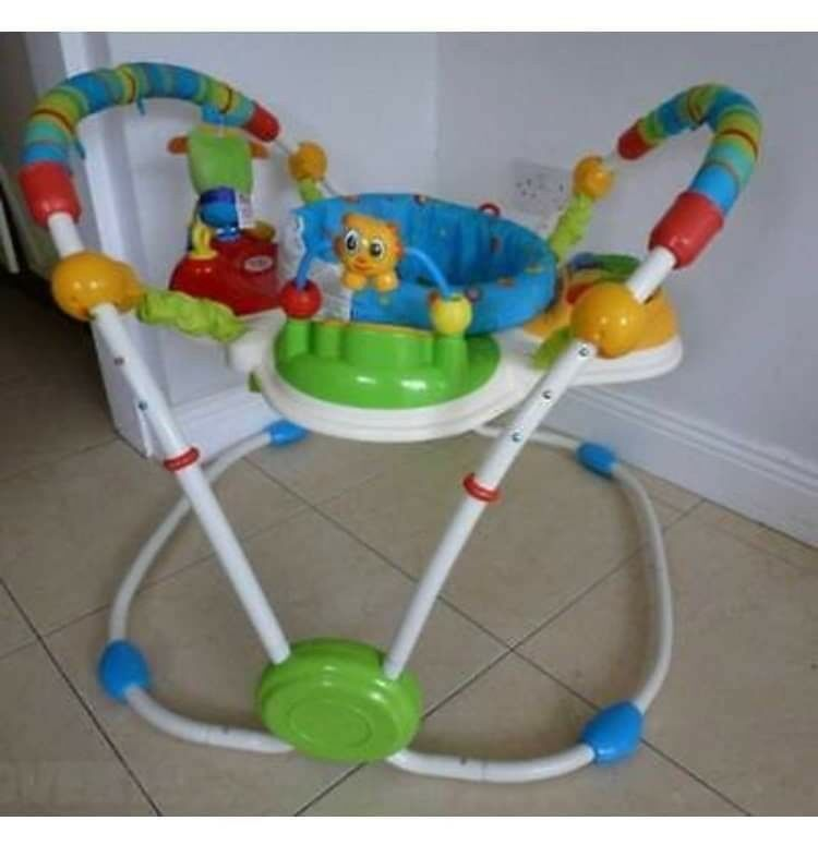 08e523845022 Bright Starts Cute Critters Activity Jumperoo