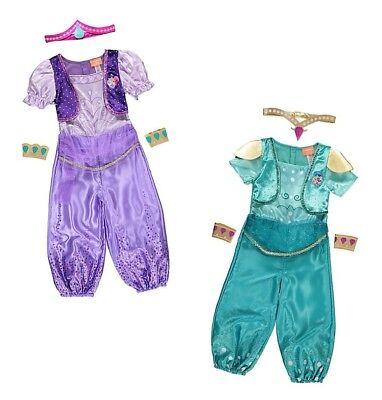 George Schimmernd & Glanz Kinder Genie Kostüm Outfit Büchertag Kostüm ()