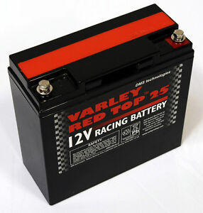 Varley Red Top 25 Battery 12V - 7065-0017