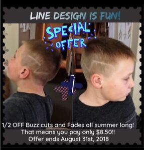 Bella's •Salon Boutique• Buzz Cuts $8.50