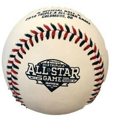 08c06669301 Rawlings 2018 AAA All-Star Game Baseball MILB IL PCL New Rare Columbus  Clippers