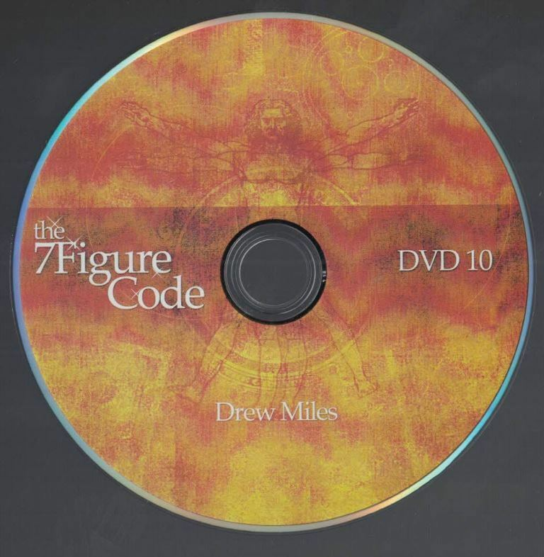 The 7 Figure Code Set Internet Marketing Drew Miles Taxes Assets DVD No 10 - $7.42