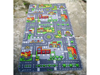 Large Childrens Playmat Road Rug