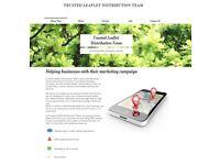 Door To Door Leaflet Distribution. GPS-Tracked Leafleting-Printing Service.