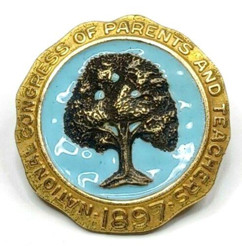 1897 National Congress of Parents And Teachers Pin - 10k G.F.