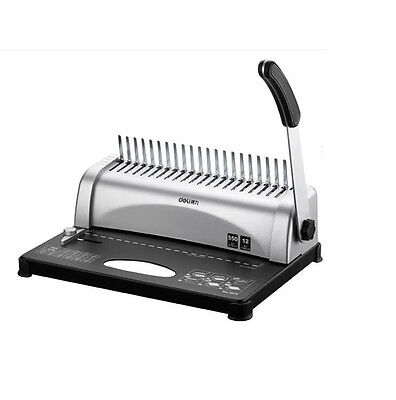 21-hole W350 Combs Paper Comb Punch Binder Binding Machine Financial Documents