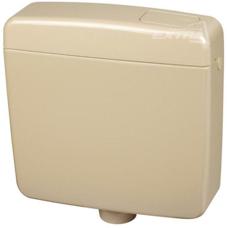 Cassetta scarico wc champagne risciacquo zaino pulsante - Aspiratore bagno senza uscita esterna ...