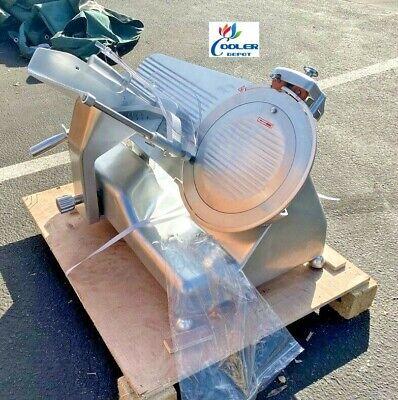 New 14 Commercial Semi Automatic Electric Meat Deli Auto Slicer Hot Pot Etl