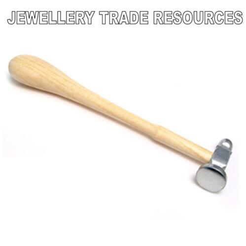 JEWELLERS SILVERSMITHS CHASING PLANISHING HAMMER JEWELLERY SILVERSMITHING