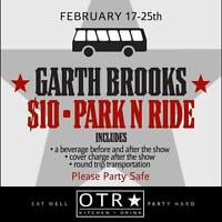 Garth Brooks Shuttle to Rogers Park and Ride
