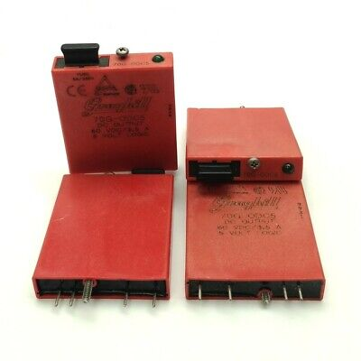 Lot Of 4 Grayhill 70g-odc5 Solid State Relay Module In 5vdc Out 3-60vdc 3.5a
