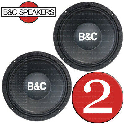 """B&C 10MD555 10"""" Midbass Super High Power Output Woofers Speakers, PAIR (2 pcs)"""