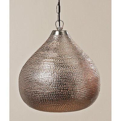 Deckenlampe Hängelampe Eisen silber