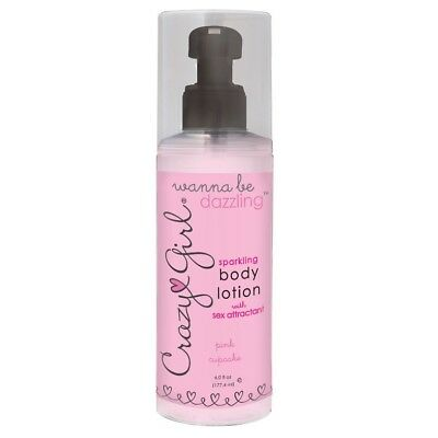 CRAZY GIRL BODY LOTION WITH PHEROMONES, PINK CUPCAKE, 6.0 OZ. 177ML BEST