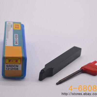 Srdcn1212h06 Holder For Rpmt0602mo Carbide Inserts 12100mm R3 Milling Cutter