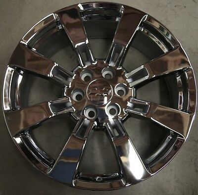 "NEW Chevy Silverado Tahoe Suburban Avalanche Chrome 22"" Wheels Rims CK375 