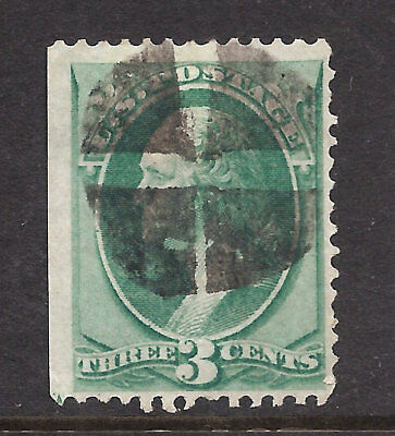 136 VF CENTER S.O.N. CORK CANCEL, NICE COLLECTOR STAMP,  FREE SHIPPING