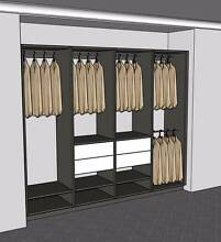 Functional custom made Wardrobe Wangara Wanneroo Area Preview