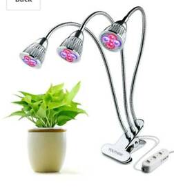 Three-Head LED Plant Lights