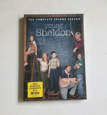 Young Sheldon The Complete Second Season Two 2 (DVD, 2019) NEW