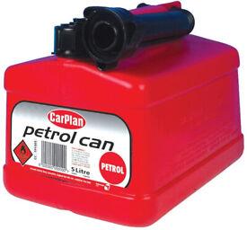 CarPlan TPF005 Tetracan Leaded Petrol Can 5L, Cars Vans 4x4's Caravan Motorhomes