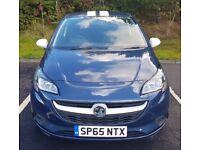 2015 Vauxhall Corsa 1.2i Sting 3 Door Full Service History Full Years MOT Very Good Condition