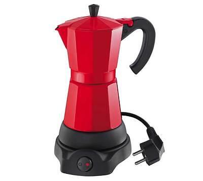 Cilio Espressokocher Classico elektrisch für 6 Tassen rot online kaufen