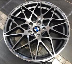 BMW Replica Wheels 19x8.5 19x9.5 Machine Gunmetal $890 + Tax Rim Tire $1450 + tax @905 673 2828 Zracing