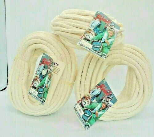 "3 Rolls Rag Works Craft Coiling Cord New 1/2"" 50"