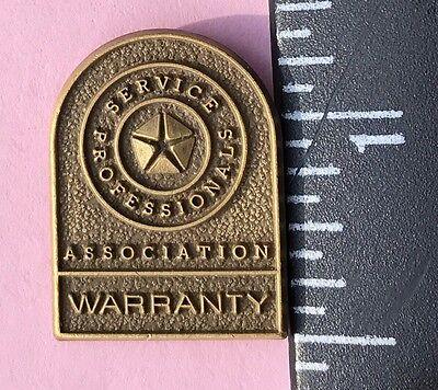 Vintage Dodge/Chrysler Service Professional Warranty Employee Lapel Pin