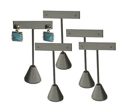 Lot Of 5 Steel Gray Earring Display Stand Earring Tree 5 34h Earring Stand