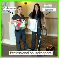 Professional Housekeepers / Femmes de ménage professionel