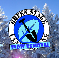 Green Stake Landscaping | SNOW REMOVAL