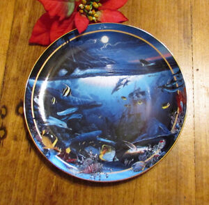 """1996 """"Maui Whale Song"""" by Lassen, Vintage Collector's Plate #4 Kitchener / Waterloo Kitchener Area image 1"""